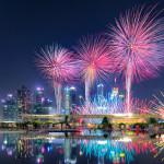 Long Exposure Fireworks 2